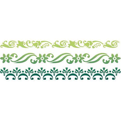 Plantilla Decorativa Les Decoratives Nº 85 Flores Ref. 11054512   Leroy  Merlin