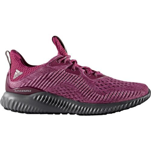 60ee1574f Adidas Women s Alphabounce EM Running Shoes (Red Grey