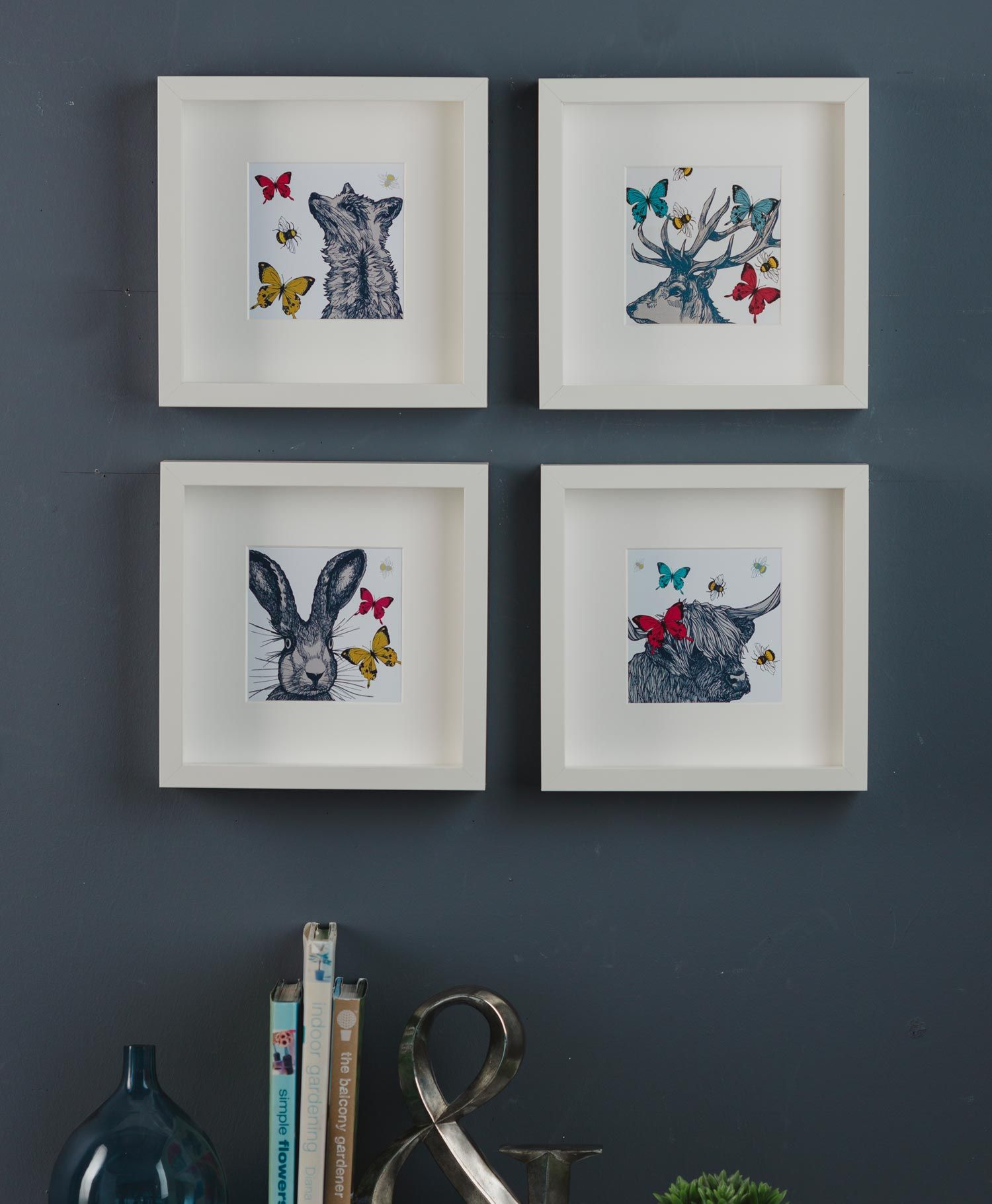 Foxy Square Art Print These New Ilrations And Wall Ideas By Scottish Ilrator Gillian