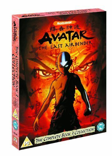 Avatar The Last Airbender The Complete Book 3 Fire Dvd