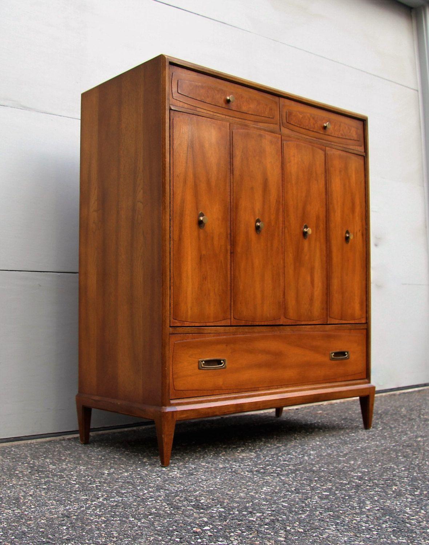 Mid Century Modern Highboy Dresser Gentlemen's Chest by ...