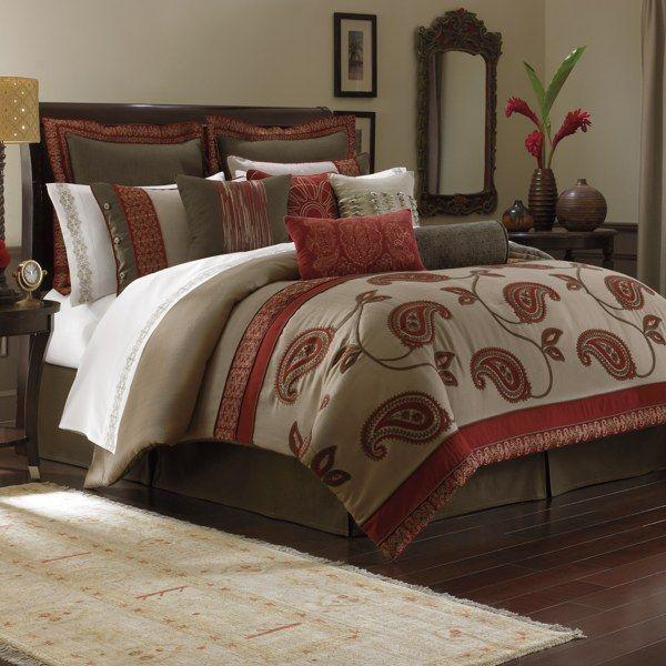 Bombay Bali 4 Piece Comforter Set Full Comforter Sets Comforter