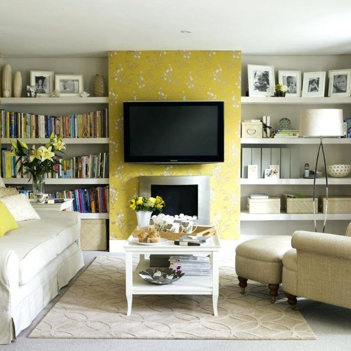 Yellow Living Room Ideas Grey White And Brown Blue Drexelgsa Home