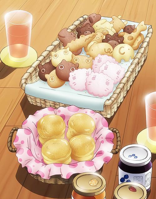 Kawaii Shop 푸드아트, 음식 그림, 귀여운 음식