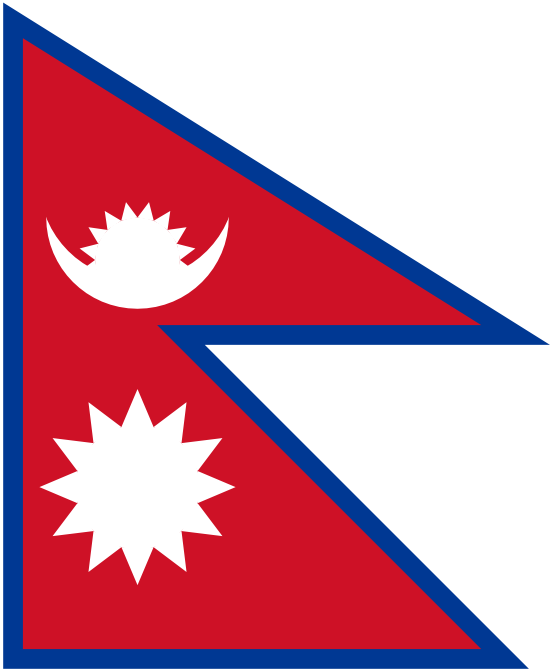 Flag Of Nepal Nepal Flag Nepalese Flag Flags Of The World