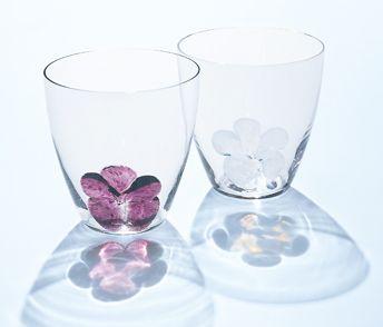 ブルーメ グラス グラス 日本酒 グラス ガラス工芸