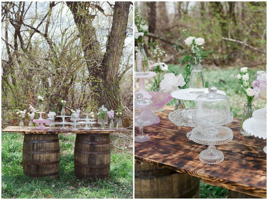 Yard wedding decoration ideas   Most Romantic Rustic Wedding Decor Ideas That You Never Seen