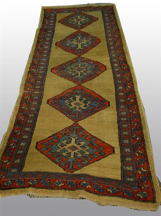 Grogan and Company | SERAB RUNNER, Persia, circa 1900  8 feet x 3 feet 2 inches