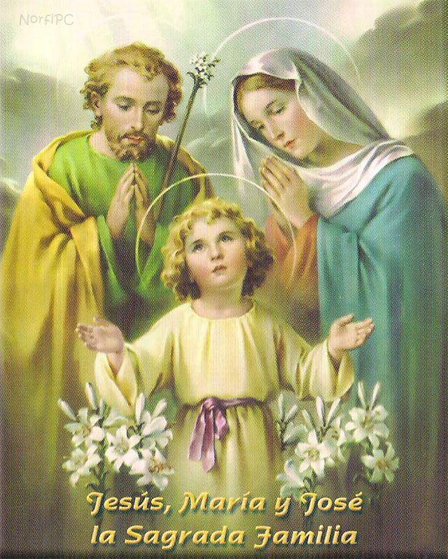 Imagen de Jesús, María y José, la Sagrada Familia ...