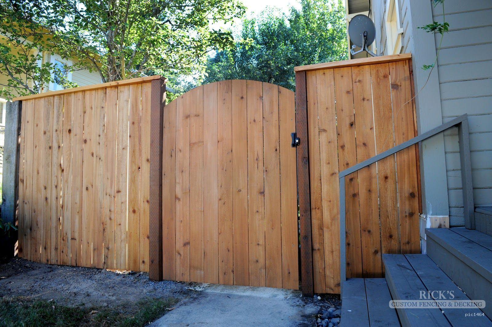 Cedar Fence & Cedar Fence Designs   Rick's Custom Fencing & Decking