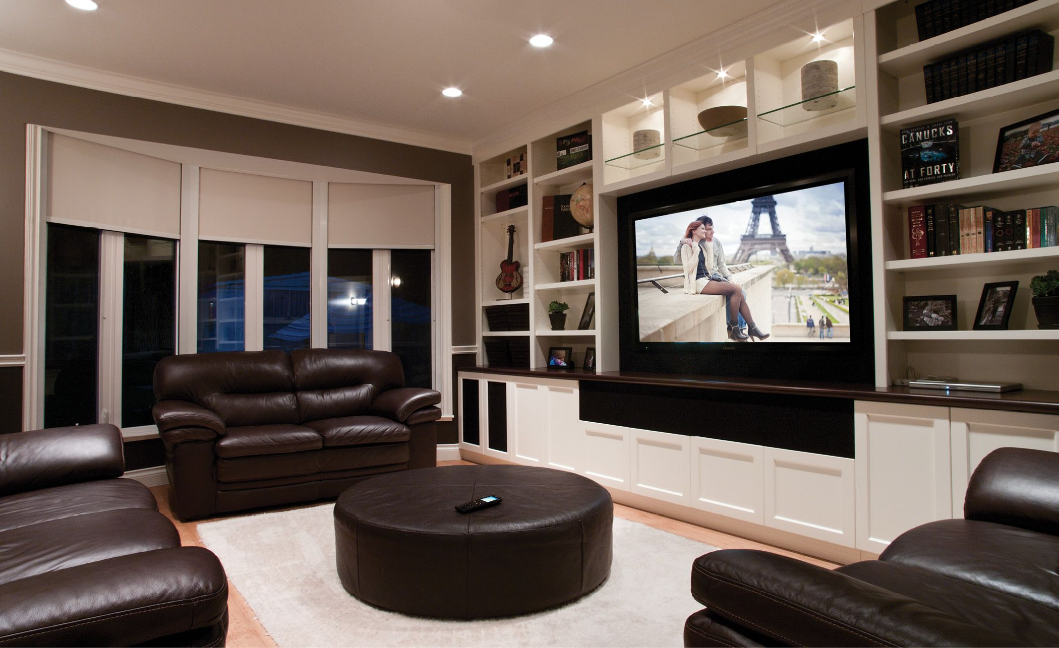 Image Result For Wide Family Room Big Tv Living Room Theaters
