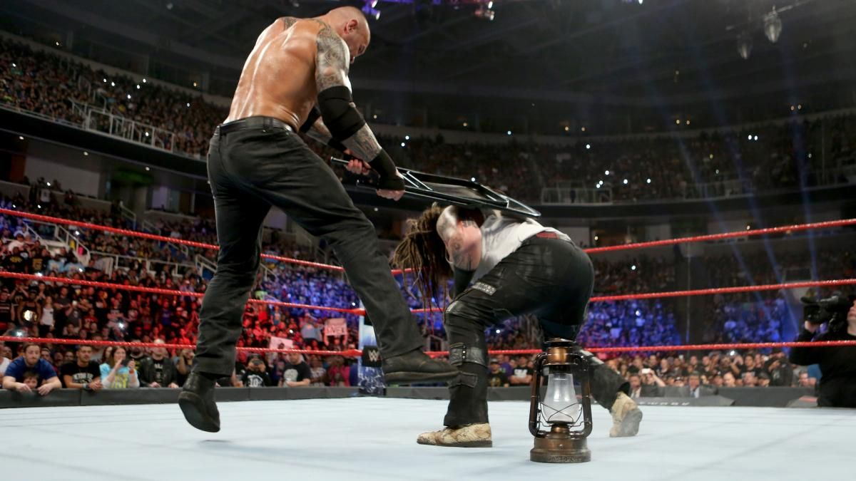 Wwe Champion Randy Orton Vs Bray Wyatt House Of Horrors Match