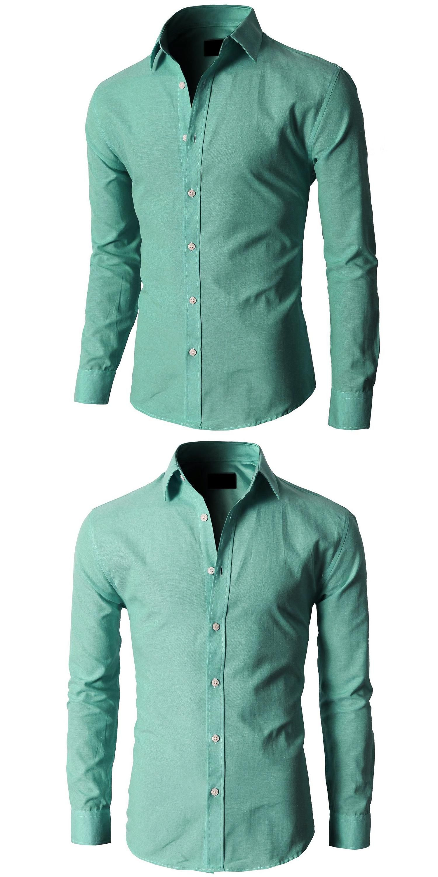new stylish casual dress slim fit shirt casual long sleeve