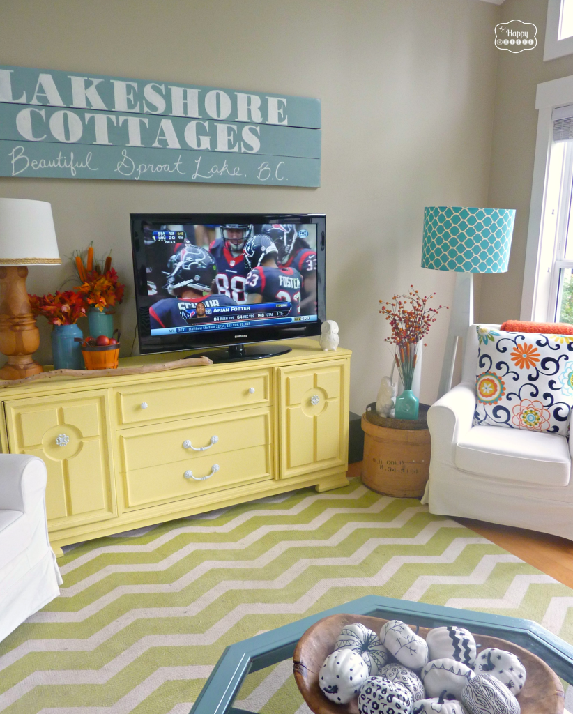Fall-ifying the Living Room | Fall living room, Room decor and ...
