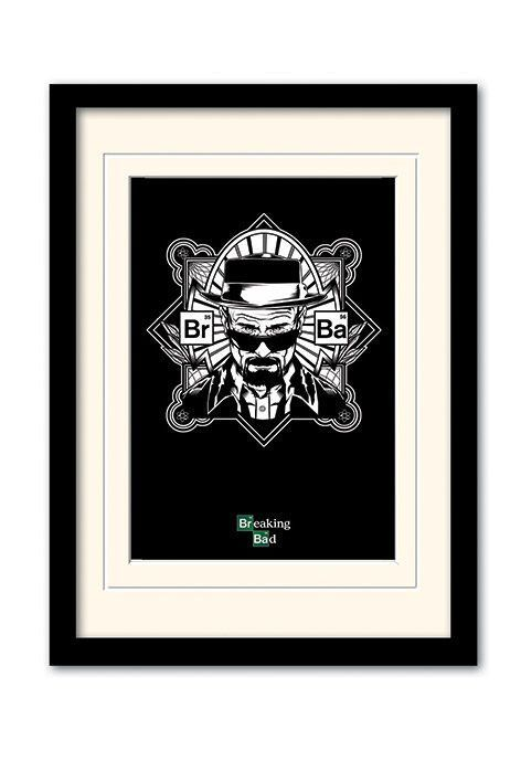 Breaking Bad Framed Poster with Mount Obey Heisenberg - The Movie ...