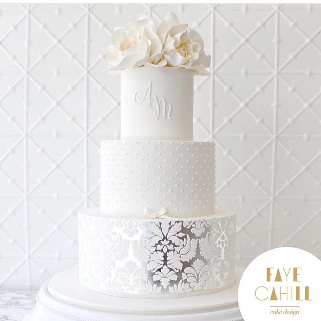 Faye Cahill Wedding Cake Sydney