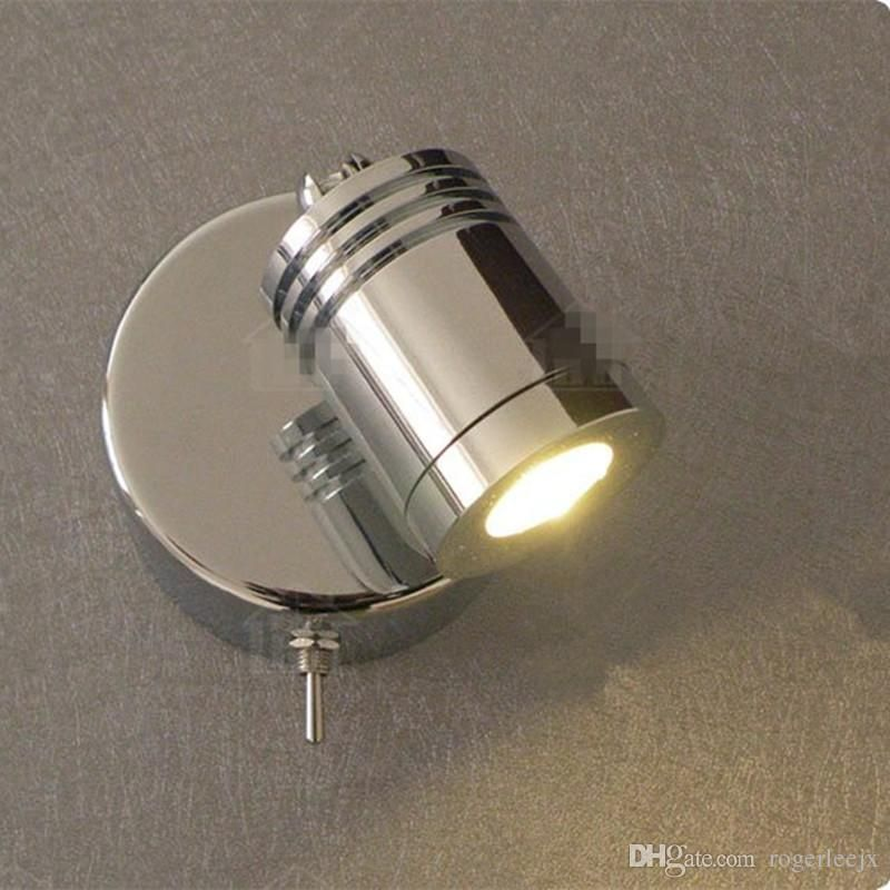 2020 Topoch Wall Mounted Reading Lamps Rotational Switch On Off 3w Integral Led Built In Driver Chrome Finish For Hotel Rv Boat Retro From Rogerleejx 23 02 Wall Lamp Lamp Wall Mounted Reading Lights