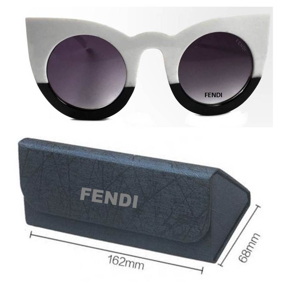 bec7f5210fdad Moda Oculos - Replicas de óculos femininos redondo modelo Fendi Gatinho  barato direto da 25 de