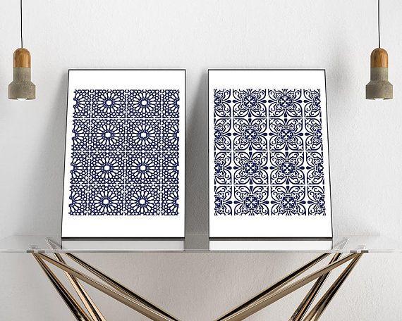 Hamptons Style home decor | Indigo blue cushions, Hamptons ...  |Hampton Style Indigo