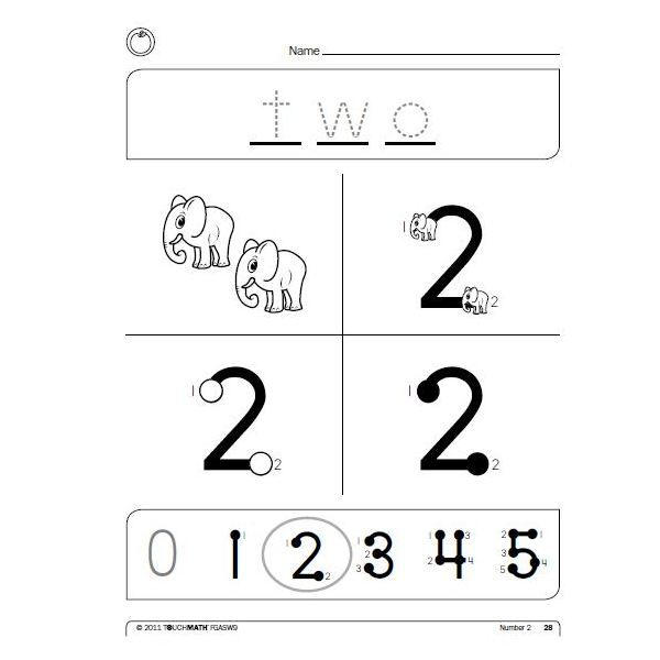 TouchMath Why Its Great How You Should Use It – Touch Math Worksheets Free Printables