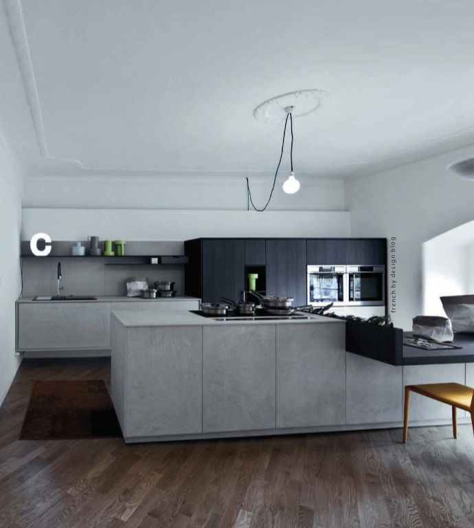 Trend Alert  Concrete Concrete, Concrete kitchen and Design trends