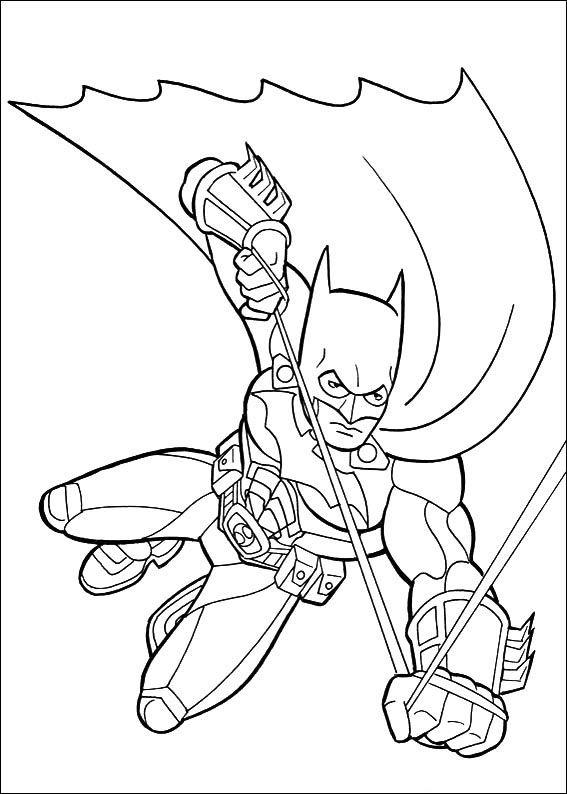 Batman Ausmalbilder 1 | Ausmalbilder für kinder | Pinterest ...