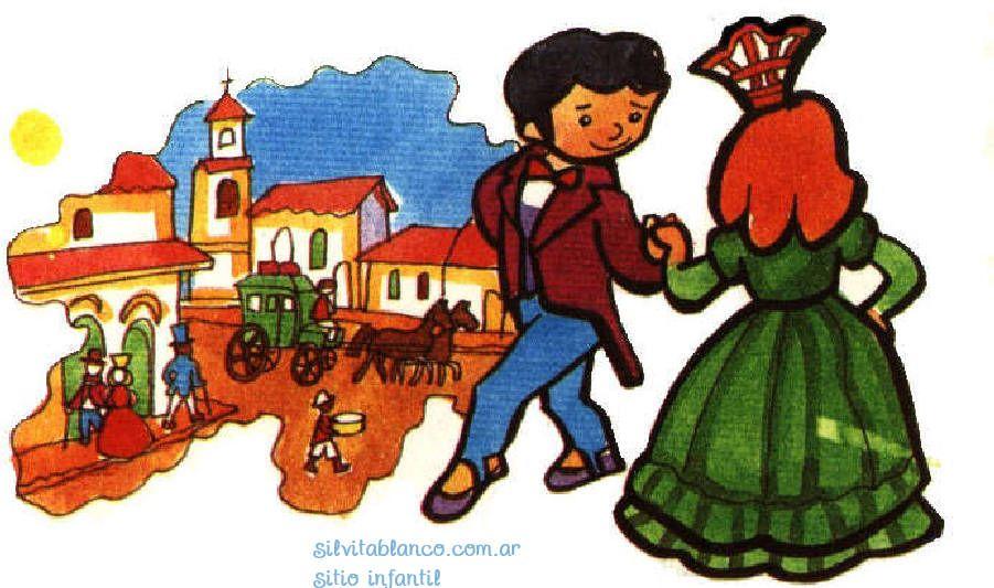 Bailecito Danza Tradicional Argentina Danza Tradicional 25 De Mayo 1810 Danza