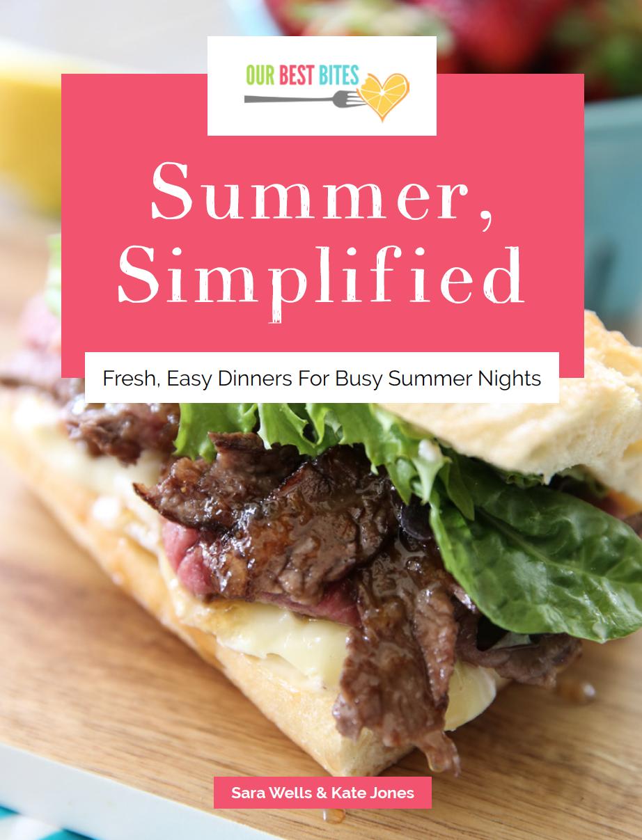 Resultado de imagen para our best bites summer meal plan