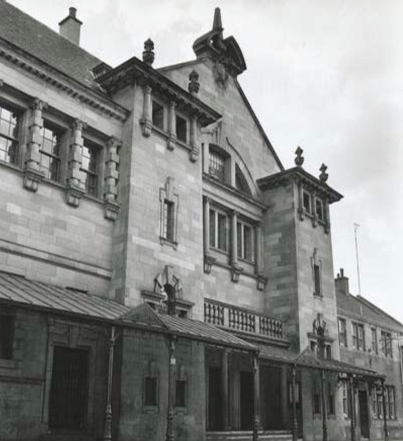 Hall St Police Station Clydebank