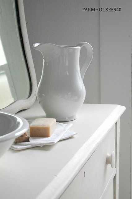 Weekly Inspriration ~ Soap, Soap Dishes, and Hand Towels