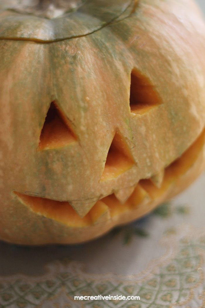 come fare diy tutorial zucca di halloween carving pumpkins ME creativeinside