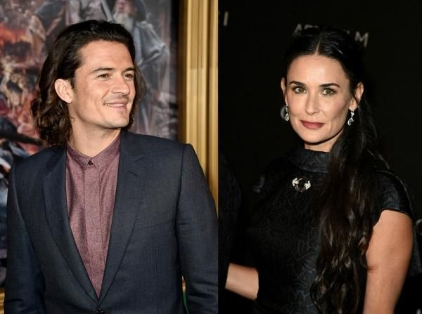 Demi moore dating orlando bloom