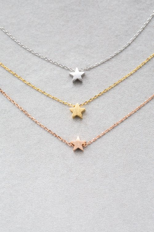 35b4590b9a434b Pin by Danielle Junge on Rings&things | Star necklace, Jewelry, Bff ...