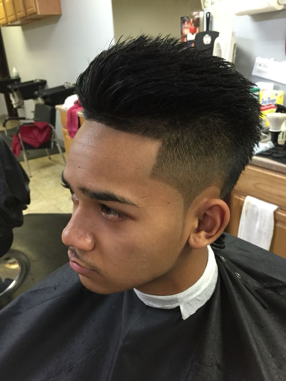 Messy Shadow Fade Mohawk By Shaii Uniqueblends907 Mens Haircuts