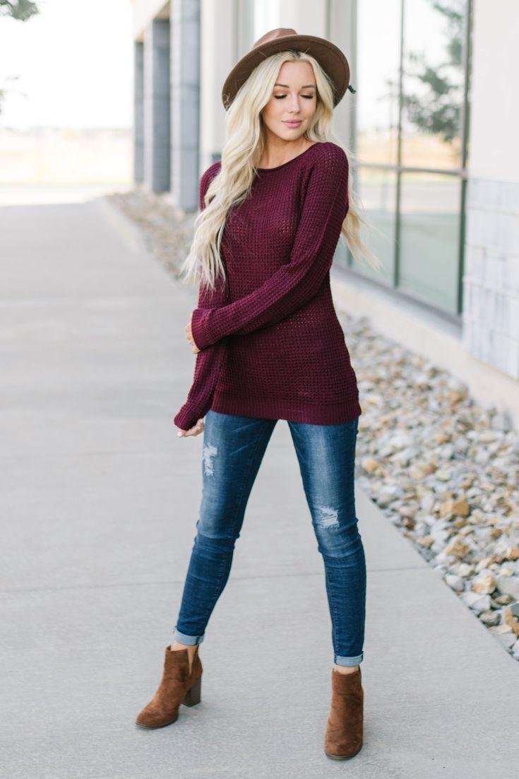 Kaya Waffle Sweater