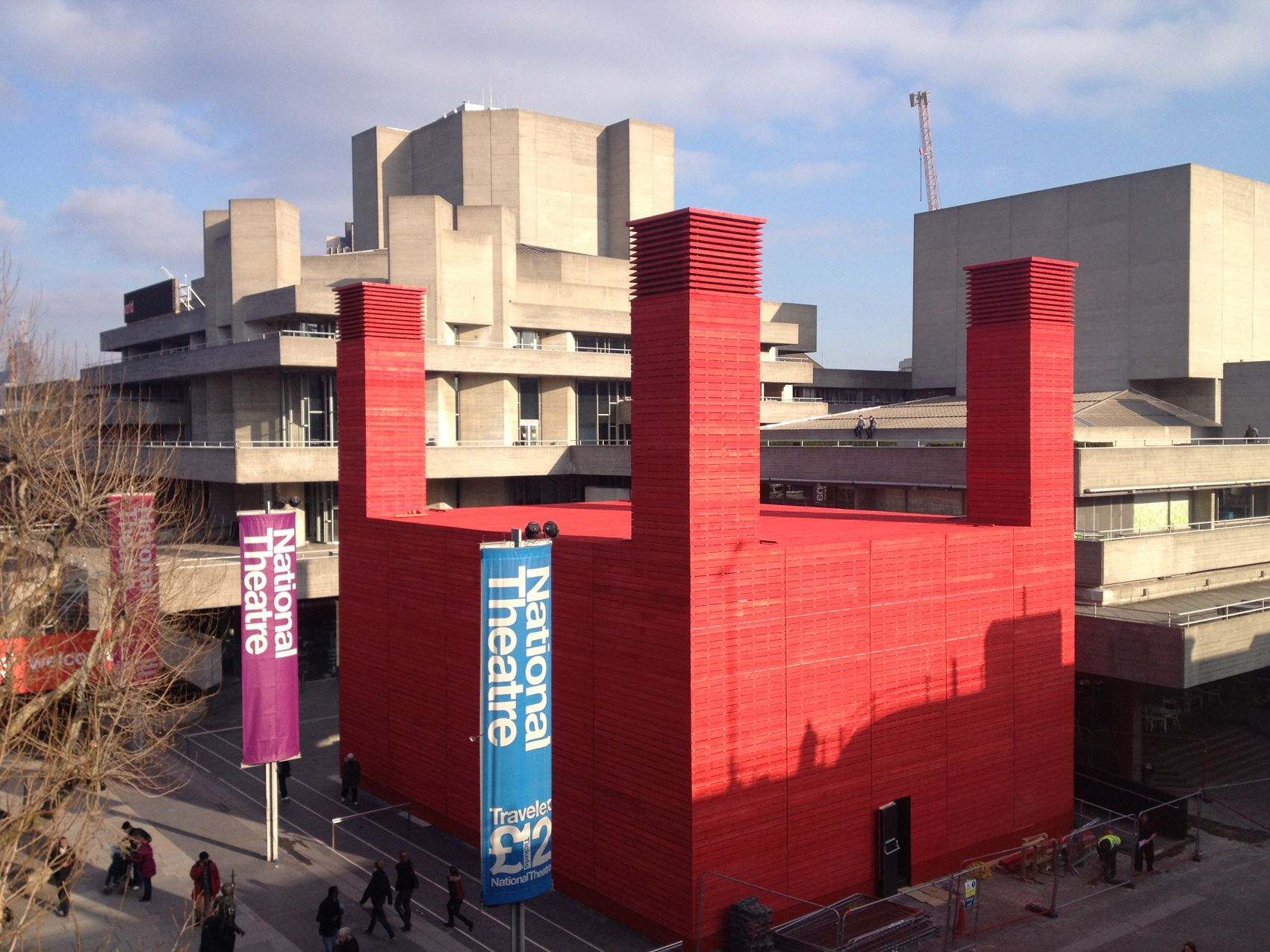 A new theatre space on South Bank.