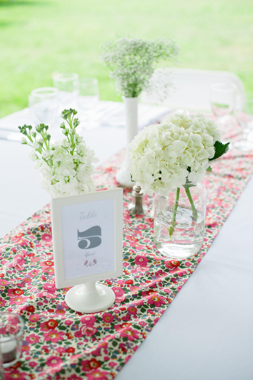Wedding decor ideas simple  Simple Rustic Reception Decor  Mary u Philus Wedding Flower Ideas