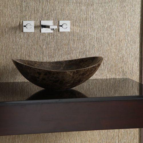 Bathroom Sinks Lowes Canada ryvyr mave158ode oval stone vessel sink | lowe's canada
