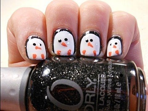 The Nail Files Cute Penguin Polish For Short Nails