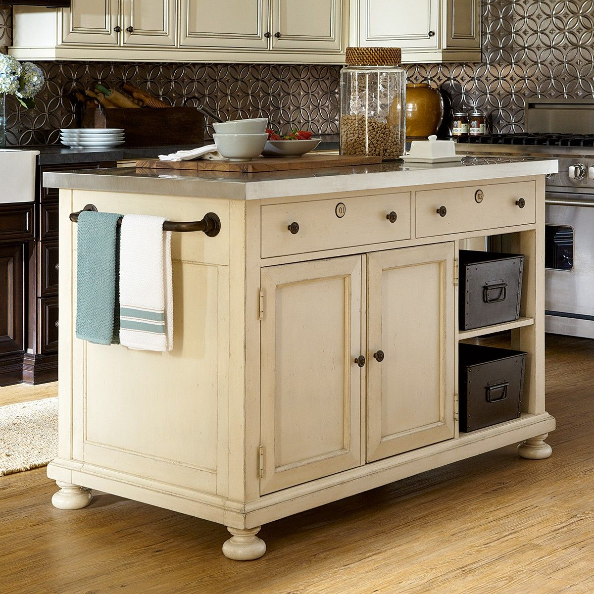 kitchen island--paula deen at haynes | products i love | pinterest
