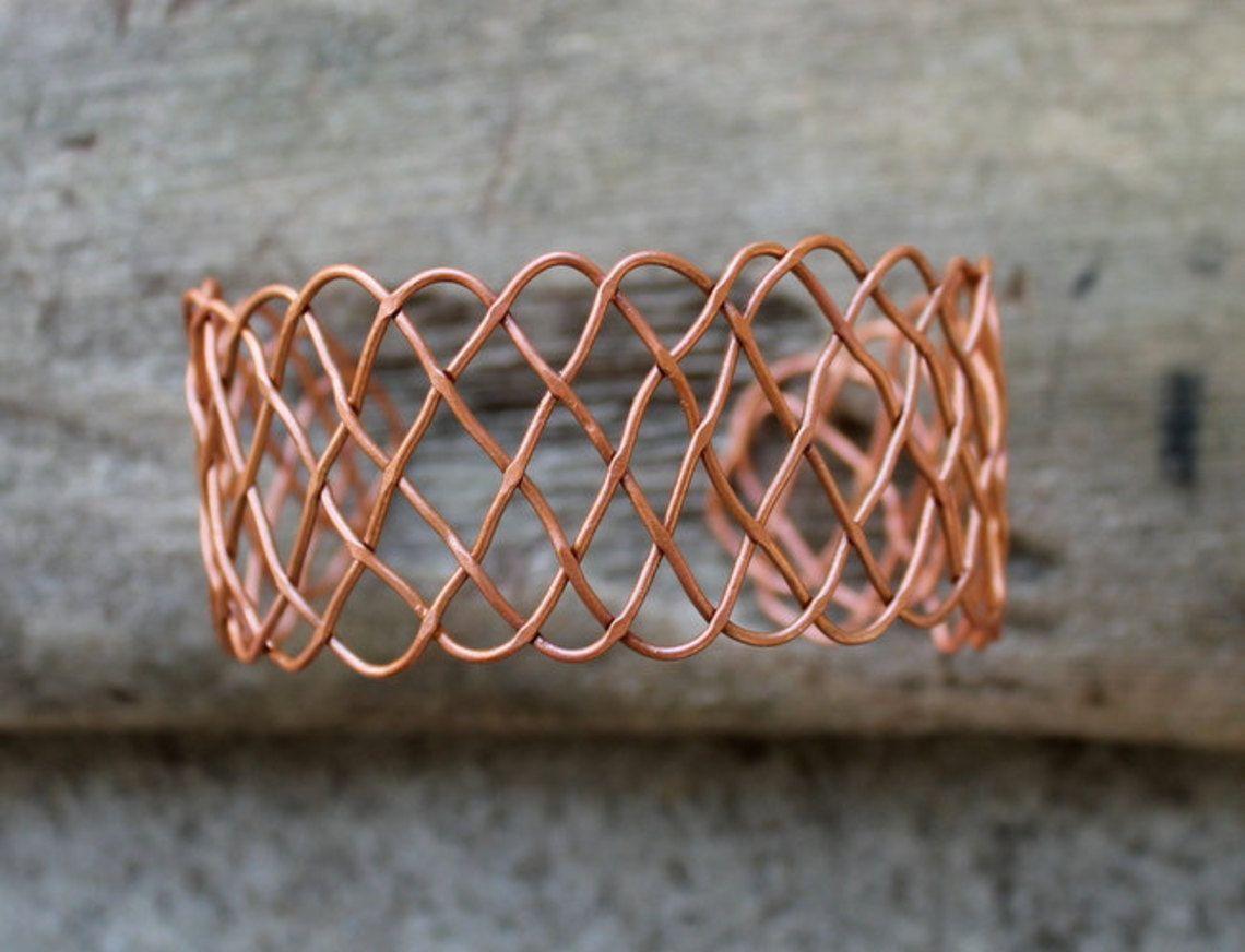 Tying Wire Art Data Snap Circuits 6scm1f Fan Copper Celtic Knot Cuff Bracelet Awesomeness On Goodsmiths Rh Pinterest Co Uk To