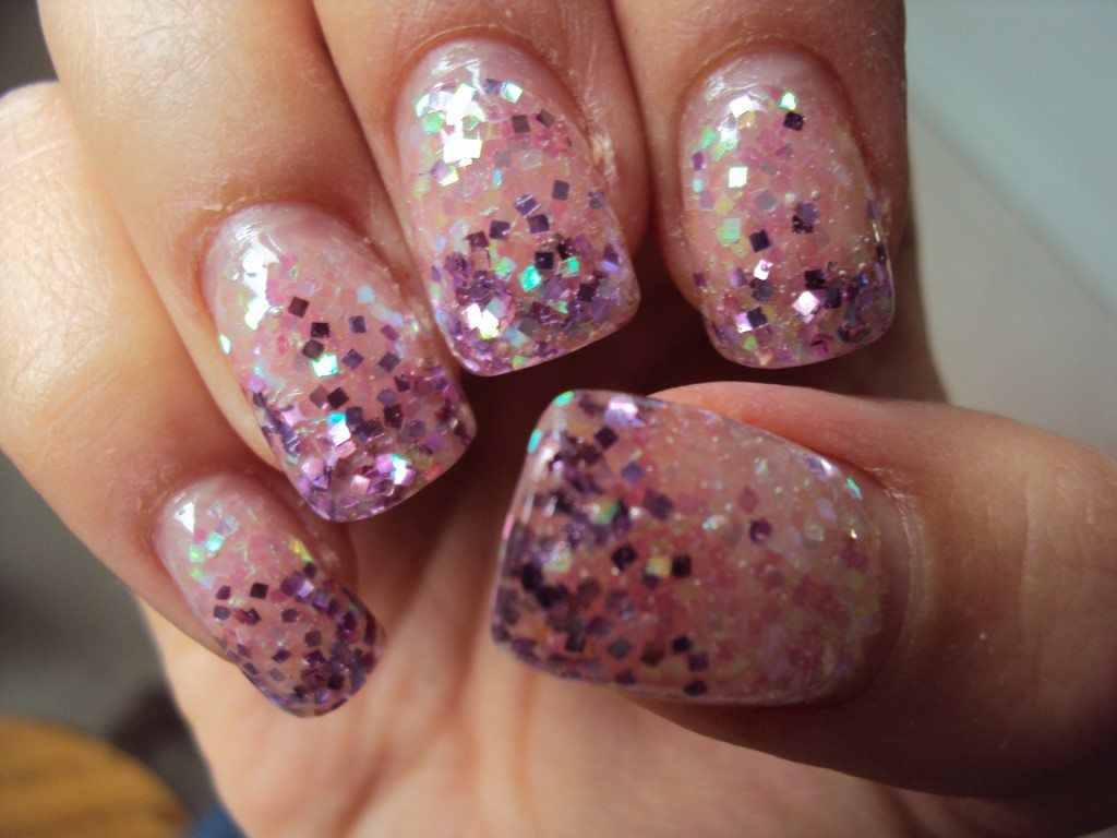 nail art | Nail Art | Pinterest | Glitter nails