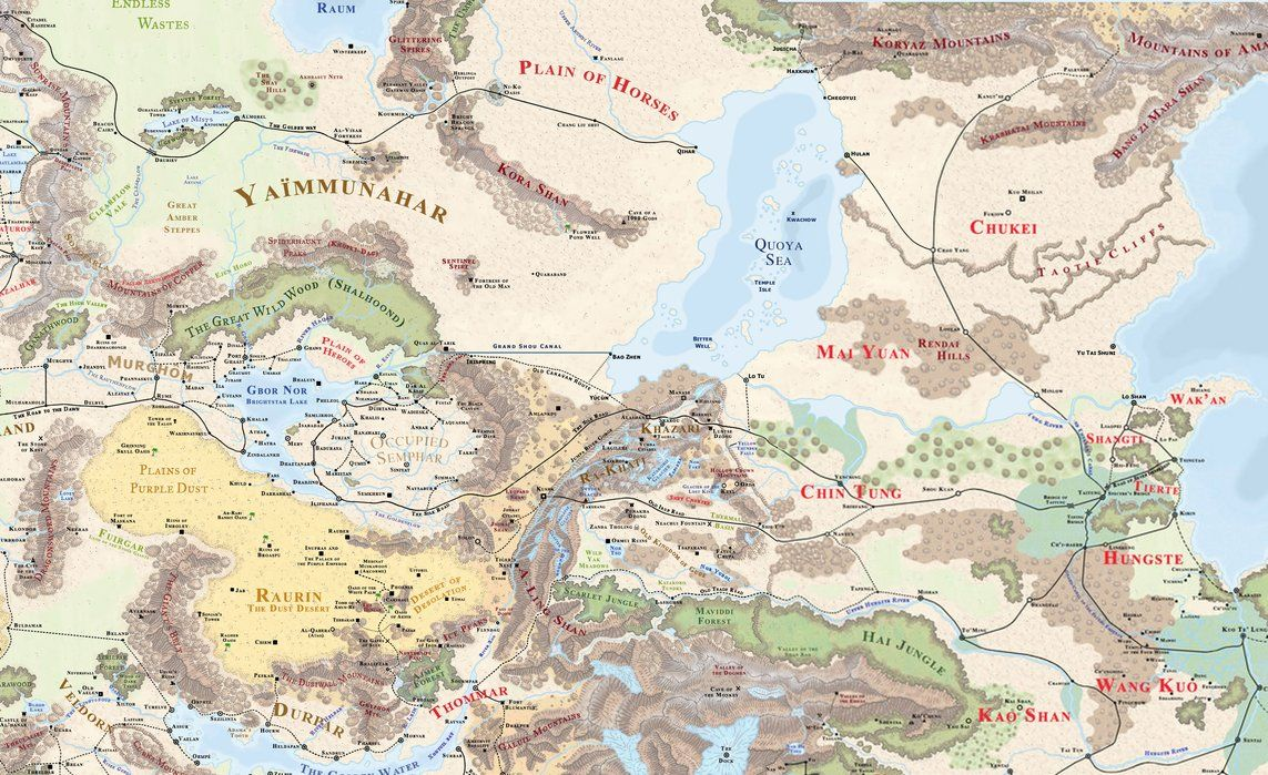 Kara-Tur Anew by Markustay on DeviantArt | Fantasy Wilderness ...
