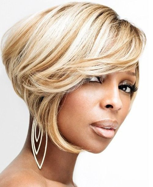 60 Showiest Bob Haircuts for Black Women | Short bobs ...