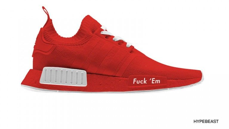 10 adidas NMD Custom Sneakers We'd Like to See More Of | Red