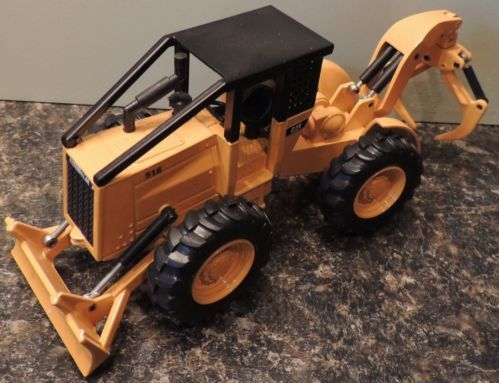 Cat 518 Grapple Skidder Diecast Toy Model 1 50 Caterpillar