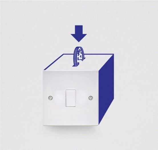 Vinyl Decals To Decorate Light Switches And Outlets What Becomes - Vinyl-decals-to-decorate-light-switches-and-outlets