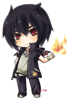 draw chibi boy black dark Google Search (With images