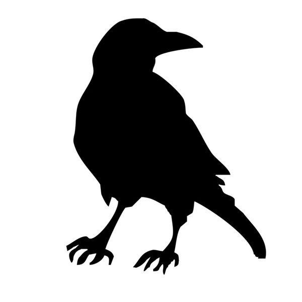 raven stencilled