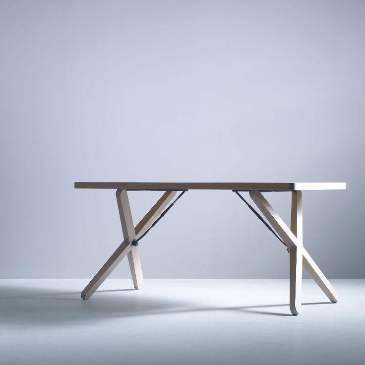 Design Tafel Meubels.X Tisch Design Table Hpl Or Oak Veneer X Tisch Design Tafel Hpl Of